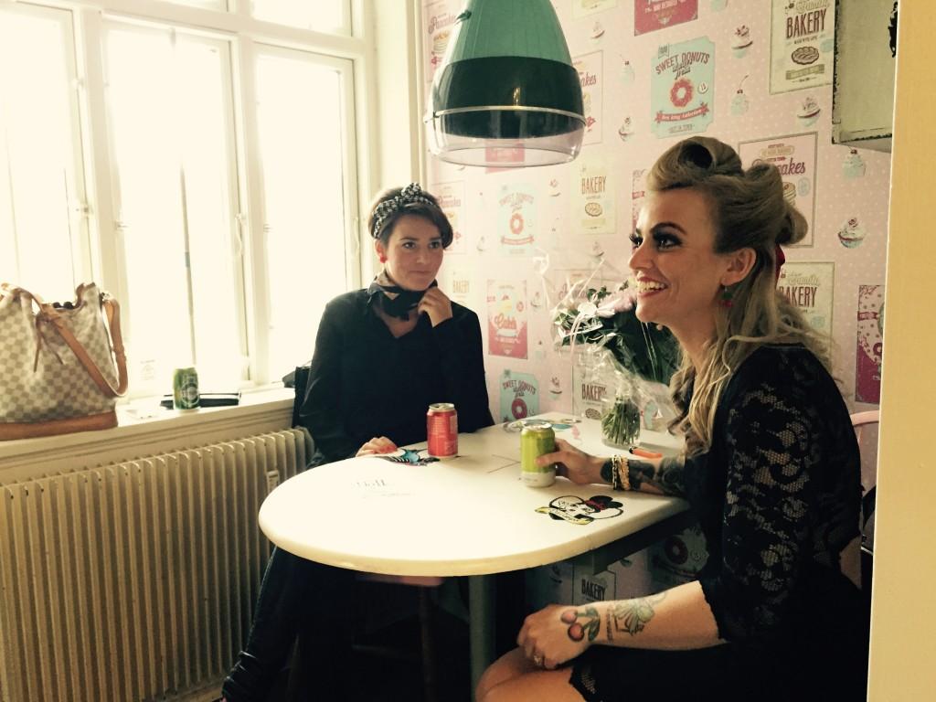 Samantha Da Campo - Åbning af salonen i Slagelse