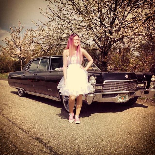 #konfirmation #pink #girlylike #Cadillac