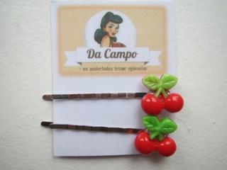 Kirsebær-hårnåle