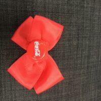 Coca cola sløjfe rød-i-rød :)
