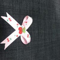 Kirsebær sløjfe med snefnug