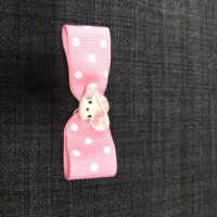 Hello Kitty sløjfe i pink