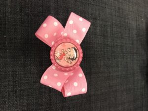 pink - Betty Boop sløjfe