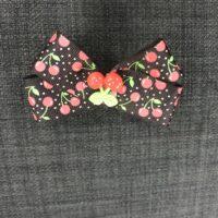 Sort kirsebær sløjfe