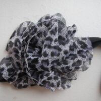 Hårbånd med leopardmønster