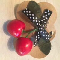 Kirsebærsløjfe - prikket